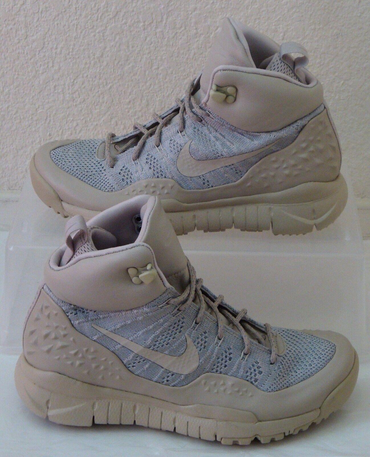 New Nike Sneakerboot Lupinek Flyknit Khaki Bone femmes US