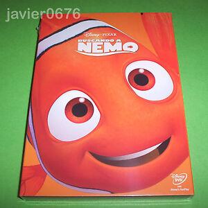 BUSCANDO-A-NEMO-DISNEY-PIXAR-DVD-NUEVO-Y-PRECINTADO-SLIPCOVER