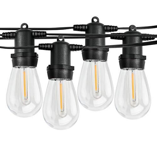 Plastic Led Clear Bulbs, Clear Patio String Lights