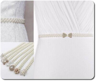 Brautgürtel Taillenband Gürtel Abendkleidgürtel Perlen Mit Anhänger 4 Modelle