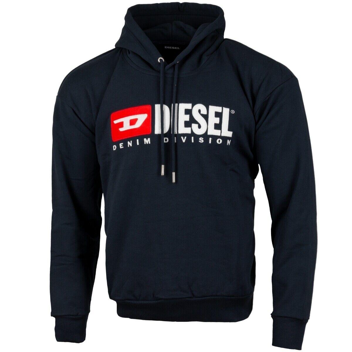 Diesel S-Division Sweatshirt mannen mannens Jumper Trui blauw 00SH34-0 catk --8IE