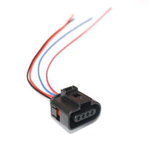 Admirable Fit For Audi Vw Skoda Pigtail Plug Wiring Harness Adapter 4 Pins 1J0 Wiring Digital Resources Bletukbiperorg