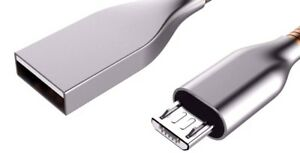 Micro-USB-Flat-Spring-Charge-amp-Sync-Cable-2-1-Amp-1-Metre