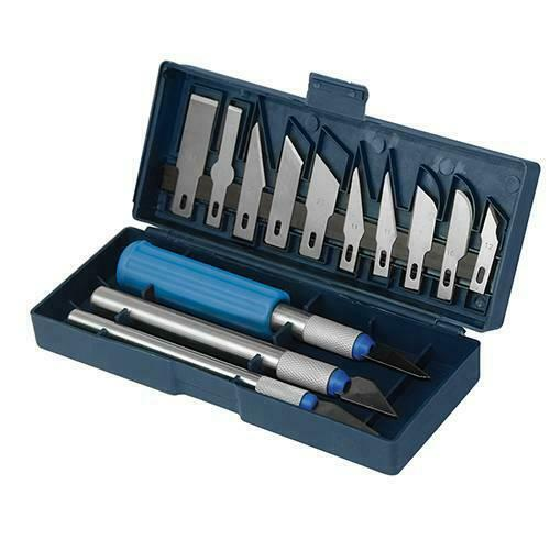 coffret de 16 couteaux scalpels lames interchangeable
