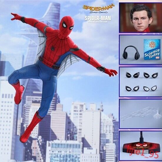 Spider-Man Homecoming  Deluxe 1 6TH scale Collectible Action Figure nouveau IN BOX  marque célèbre