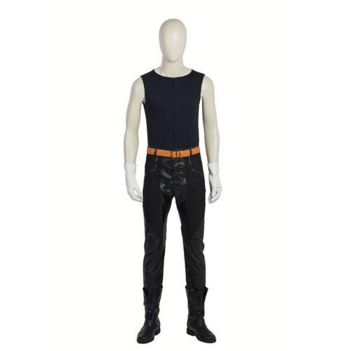 HZYM Fullmetal Alchemist Edward Elric/'s Cosplay Costume Leather Coat Trench Coat