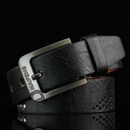 Designer Belts Men High Quality Male Genuine Leather Strap Waist Belt Jeans 2019