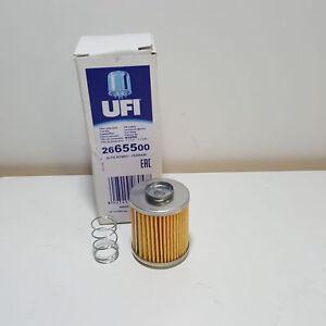filtre carburant ufi alfa romeo alfetta giulietta pour 2665500 ebay. Black Bedroom Furniture Sets. Home Design Ideas