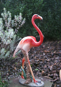 Flamingo deko f r haus teich garten figur geschenk idee for Idee geschenk garten