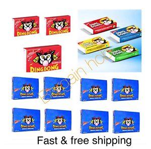New DING DONG ORIGINAL BUBBLE GUM HALAL x 1 BOXES SWEETS ...