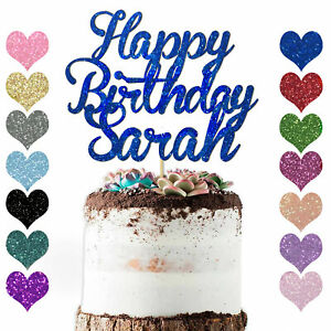 Personalised-Glitter-Happy-Birthday-Cake-Topper-Custom-Party-Decoration-Any-Name