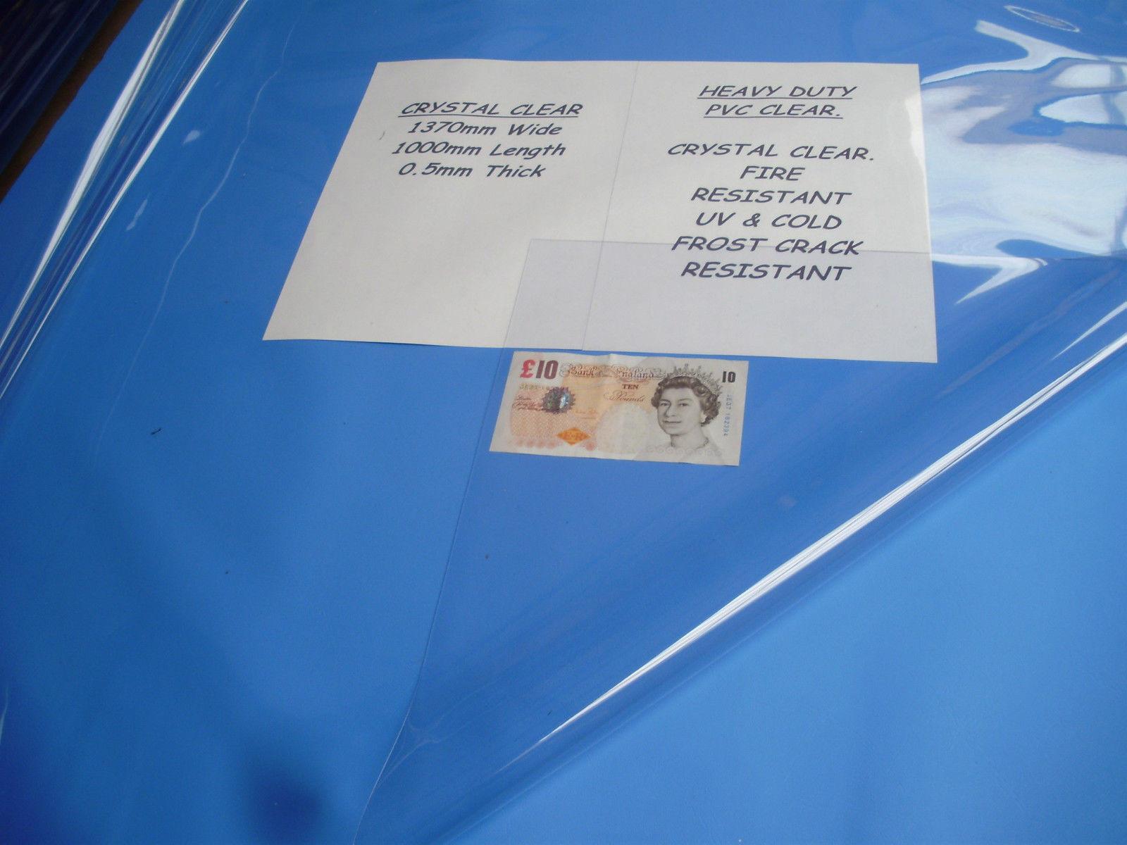 POP UP TENT REPAIR KIT CLEAR PVC WINDOW SHEETING VINYL PLASTIC CARAVAN AWNINGS
