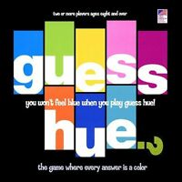 Guess Hue? The Game Where Every Answer Is A Color Trivia Family Board Game
