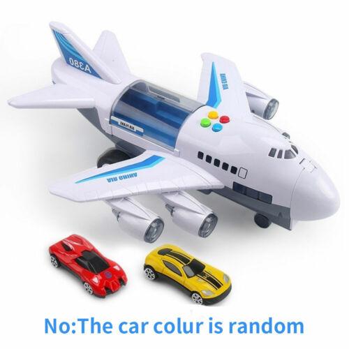 Spielzeug Flugzeug mit Sound Licht für Kinder Flieger Airlines Jet Led Plane