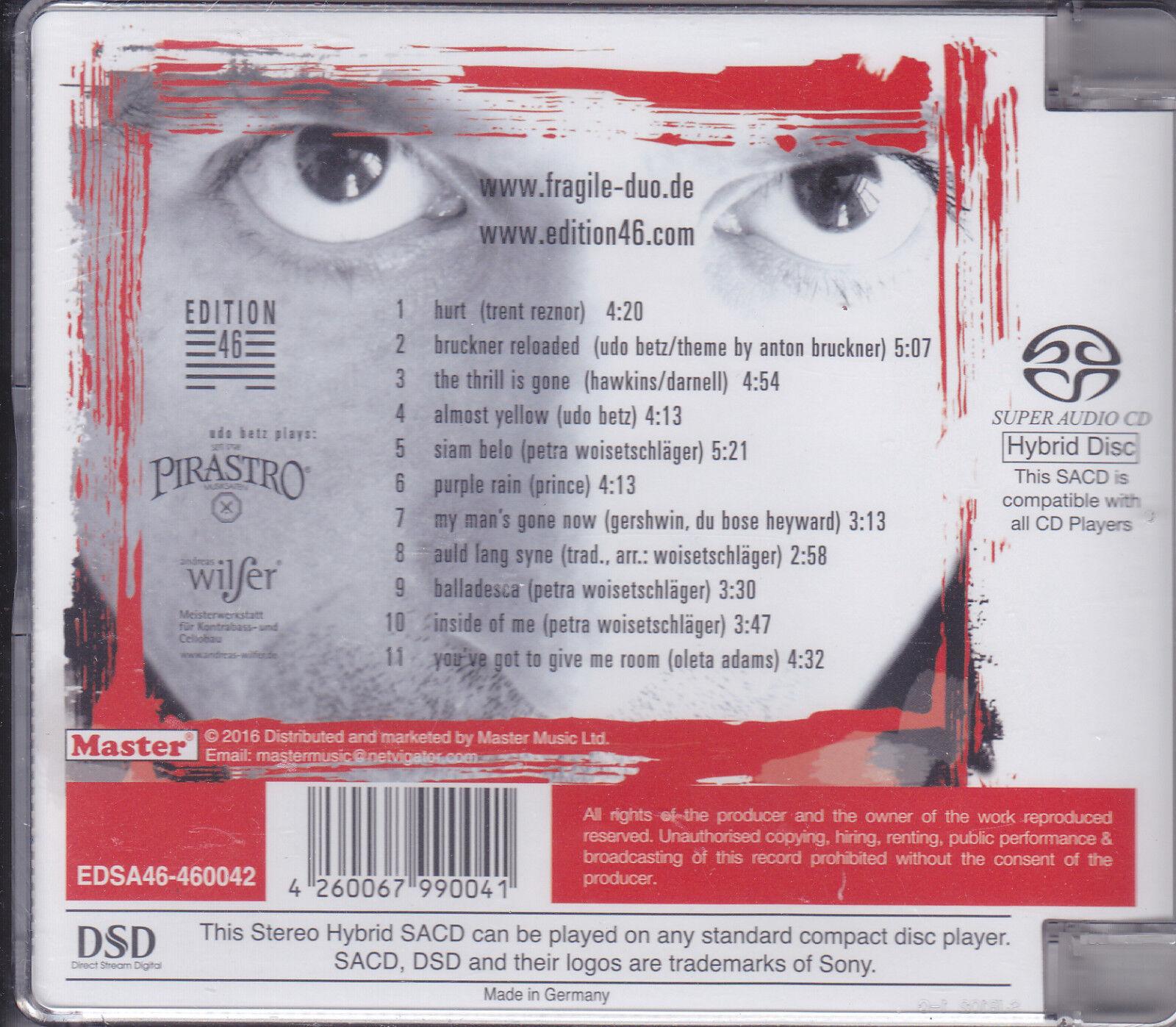 Universal and Sony Hong Kong SACD, K2 HDCD, UltraHD CD