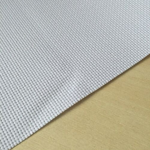"""14 Count Aida Fabric 100/% Cotton Cross Stitch in White 4x4/"""" 15pcs//pack"""