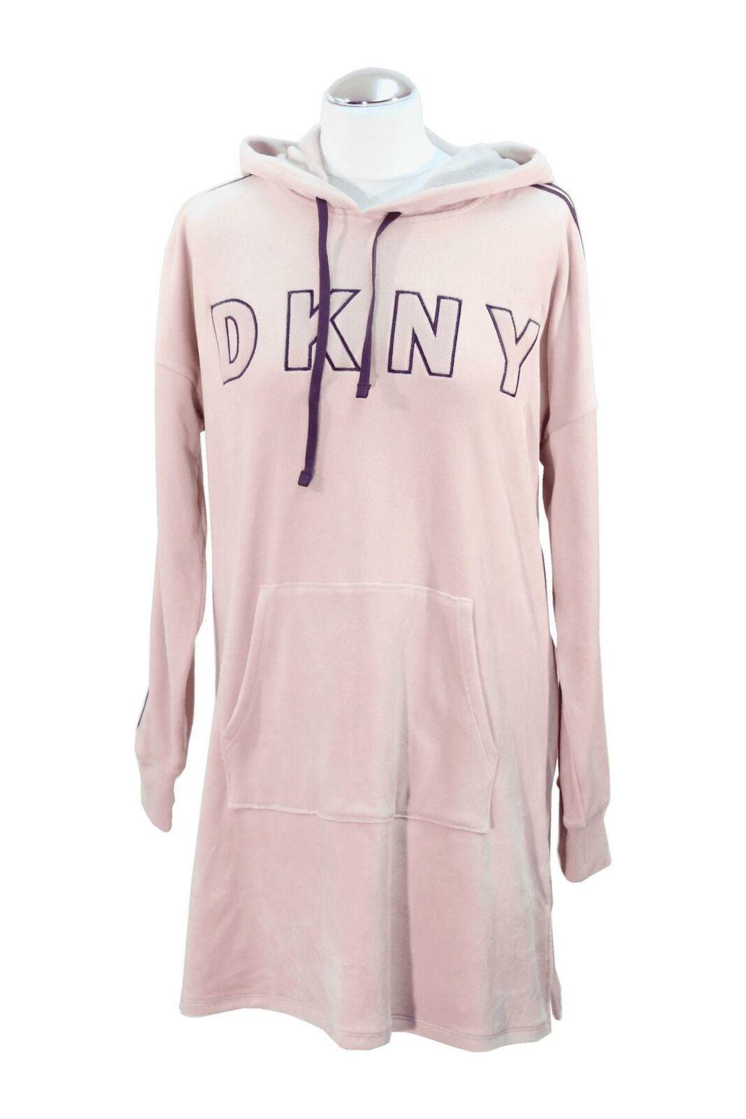 DKNY Schlafanzug Damen Gr. 36 NEU Rosa Nachtwäsche Pyjama