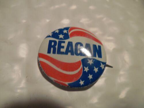 Presidential Ronald Reagan Pin Back Campaign Button President Flag 1976 Badge