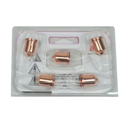 5PCS 220819 Fits Powermax 65 85 Nozzle 65 Amp After Market Consumabl