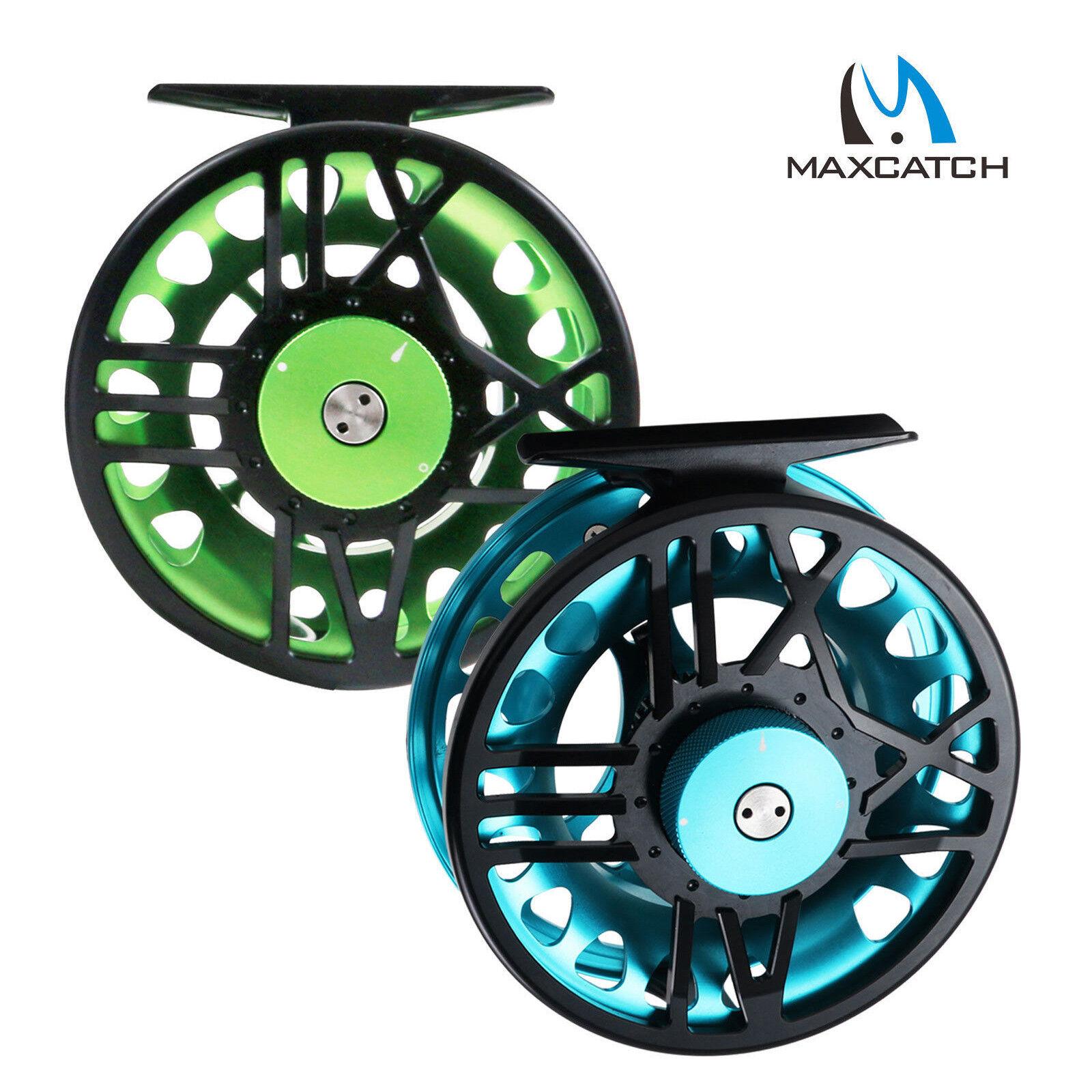 Maxcatch Fly Reel Timefly 5 6 7 8WT Large Arbor Aluminium Fly Fishing Reel