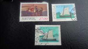 Portogallo, francobollo, 1981, mi-N. 1538; 1516; 1521 tutti timbrato