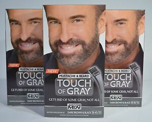 Image Is Loading Just For Men Touch Of Gray Mustache Amp