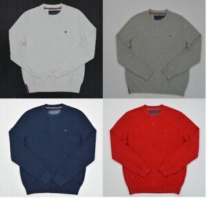 NWT-Men-039-s-Tommy-Hilfiger-Textured-Pullover-Sweater-Sizes-XS-S-M-L-XL-XXL