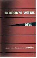 J. J. Marric~GIDEON'S WEEK~1ST/DJ~NICE COPY