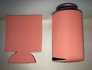 Peach Color Sublimation Koozie Blank Lot Screen Print 25 Wediing Summer Fun