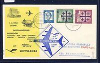 50136) Berlin, Zul. zu LH FF Düsseldorf - Bangkok 1.4.63, SoU