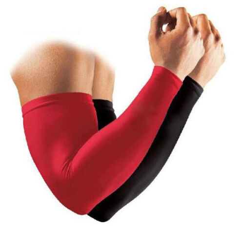 Outdoor Basketball Cycling Sports UV Sun Protective Arm Sleeves Cover