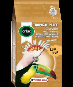Orlux Tropical Patee Premium, 5 kg, pour tous les oiseaux fruitiers