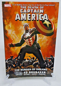Death-of-Captain-America-Burden-of-Dreams-Marvel-Comics-TPB-Trade-Paperback-New