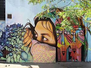 ART-PRINT-POSTER-PHOTO-GRAFFITI-MURAL-STREET-PEEKING-FACE-NOFL0291