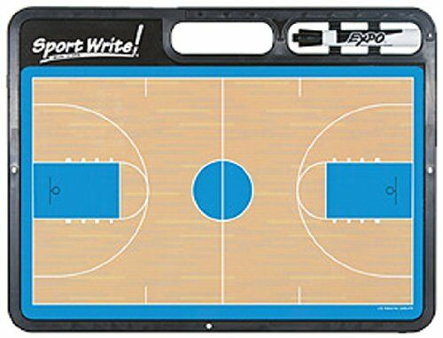 NEW Sport Write Pro Basketball Dry Erase Board with half court feature