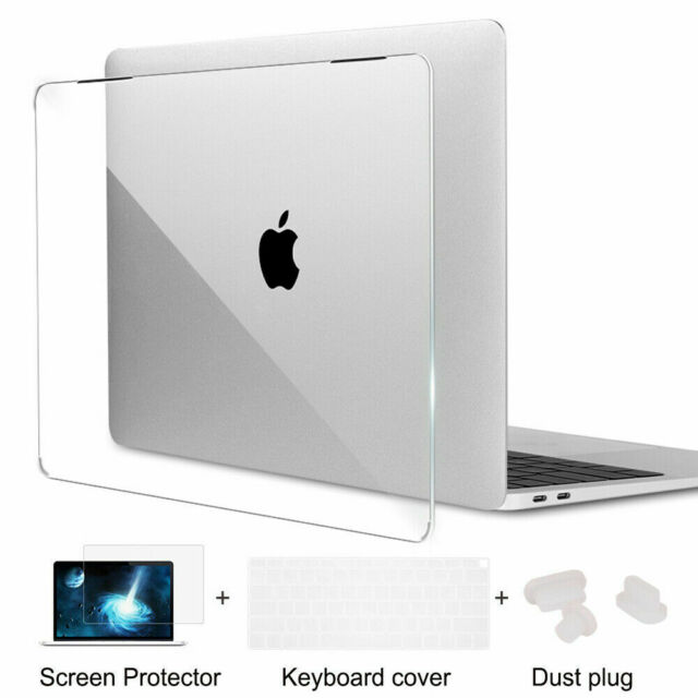 "Hard Shell Case Keyboard Cover LCD Film Skin Macbook Pro 13//15/""12 Air 11 13/"""