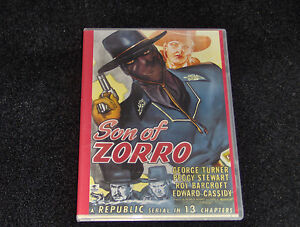 THE SON OF ZORRO CLIFFHANGER SERIAL 13 CHAPTERS 2 DVDS