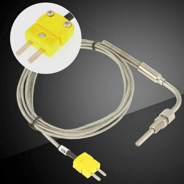 K-Typ Wärmefühler 2M Universal Für Egt Auslass Gas Temperatursensor Sonde