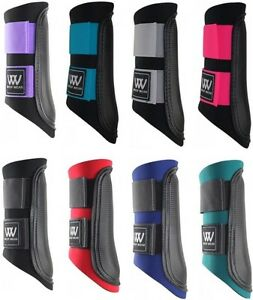 Woof-Wear-Club-Horse-Brushing-Boots-Pony-Cob-Full-sizes-Various-colours