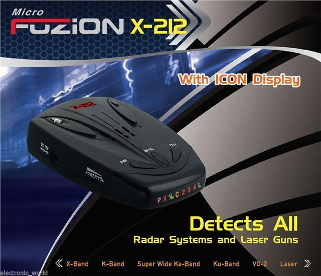 LATEST X212 CAR RADAR/LASER GUN/SPEED/CAMERA/GATSO DETECTOR WORLDWIDE DETECTOR