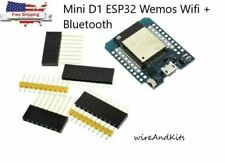 Mini D1 Esp32 Wemos Wifi Bluetooth Esp8266 Cp2104 Development Board Esp 32s Se