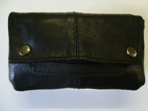Soft Leather Tobacco Pouch with space for Paper