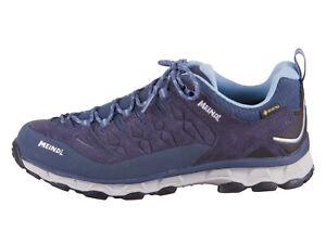 Meindl Damen Trekkingschuhe, Trekking Schuhe, Lite Trail Lady GTX Gr: 40  blau