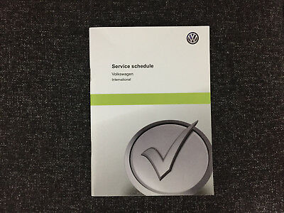 VW VOLKSWAGEN SCIROCCO SERVICE BOOK NEW UNUSED NOT DUPLICATE ALL VW 2010-2018