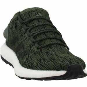 adidas-PureBoost-CM8302-Men-039-s-Running-shoe-Olive-size-10-5