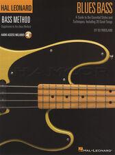 Hal Leonard Bass Method Blues Guitar TAB Music Book with Audio Learn How To Play