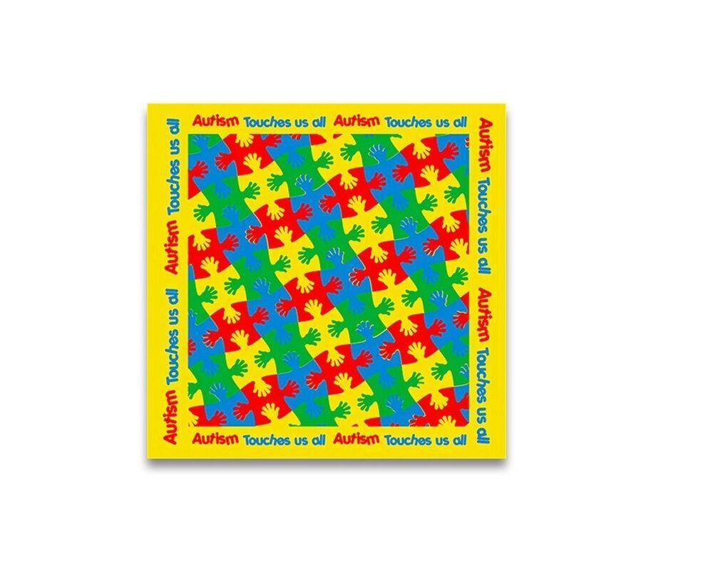 Autismo conciencia Bandanas (al por mayor Pack - 25 Bandanas)
