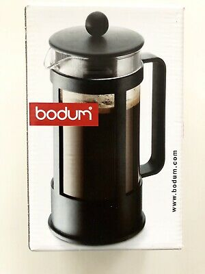 0.35L Bodum Kenya 3 Cup Coffee Maker Black