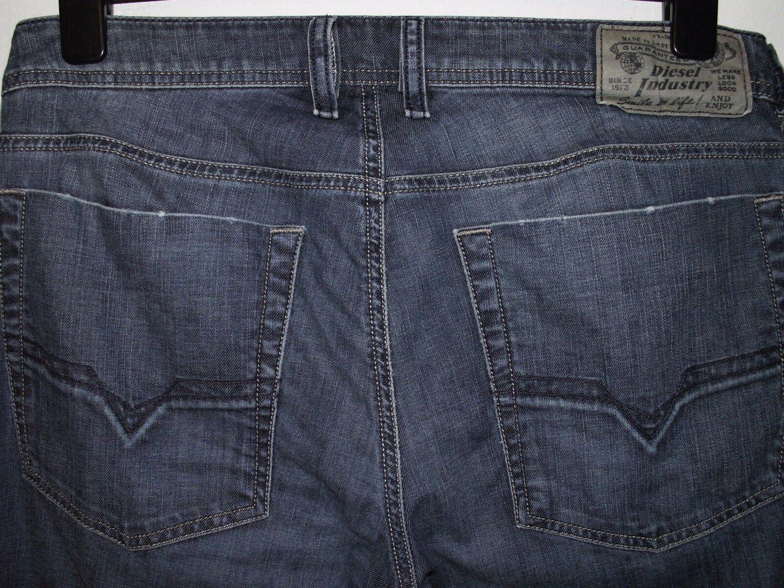 Diesel zathan bootcut jeans wash 0064M stretch W32 L32 (a2461)
