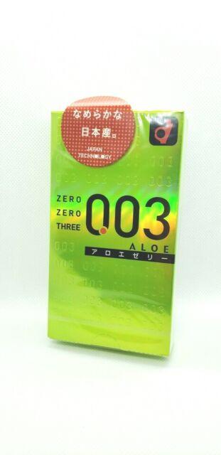 [OKAMOTO] 003 0.03mm Aloe Condom - 10pcs